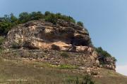 Монастырь в скалах возле села Крепча: Здесь находится самая древняя надпись на кириллице