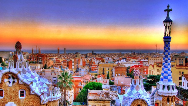 sunset-at-barcelona