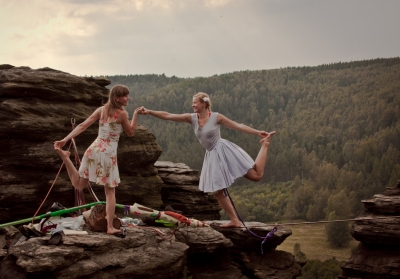 Girls Only Slackline Festival GOSF 2014 Faith Dickey Ostrov Ela Ostrowska 20